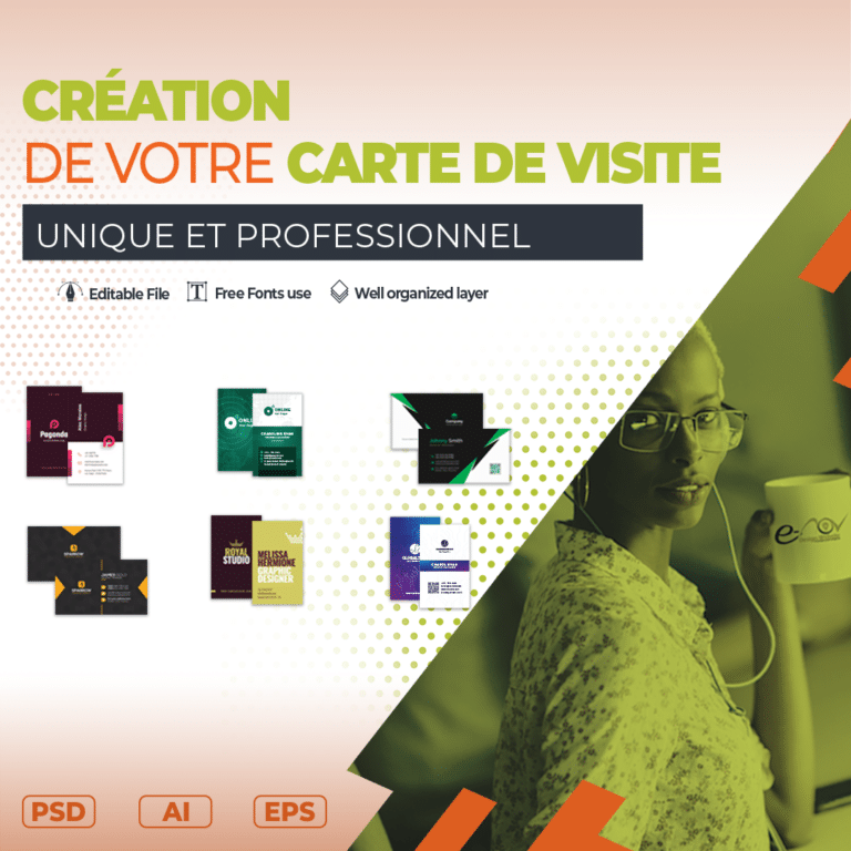 Creation design de votre carte de visite
