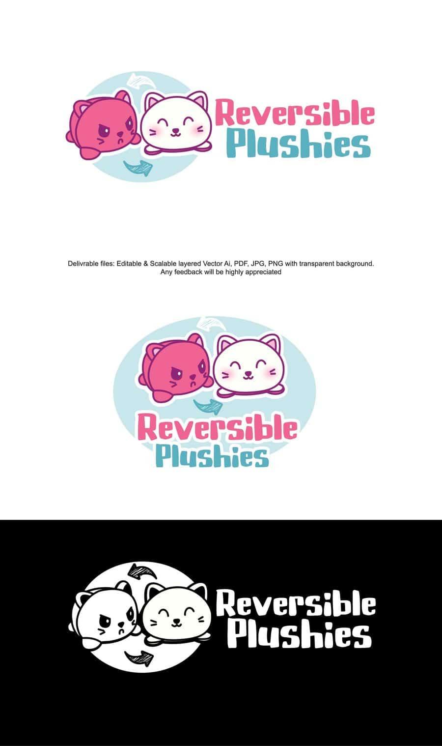 Reversible-plushies-logo-design